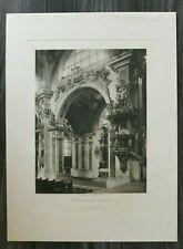 Heliogravüre Neustift bei Brixen 1894 Rokoko Otto Schmidt Wien Italien Tirol
