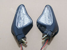 Motorcycle Ducati All Year 2007-2012 848 1098 1198 Mirrors LED Black Turn Signal