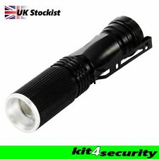 cree torch XPE Q5 600 security police bright led torch