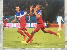 JOHN BROOKS Signed Autographed 11x14 Photo USMNT USA Soccer Hertha BSC