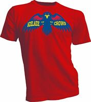 Adelaide crows Mens T tee shirt AFL Australian Football league rules handmade R