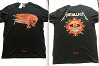 H&M DOUBLE SIDED METALLICA T-Shirts NEW Sizes XS, S, M, L, XL OVERSIZED FIT