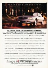1992 Oldsmobile Ninety Eight Touring Sedan 98 Advertisement Print Art Car Ad 865