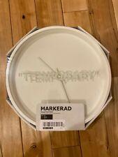 Ikea Markerad Off White Virgil Abloh Clock Temporary Art