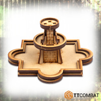 TTCombat BNIB 25mm City Fountain TTSCW-WAR-048