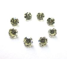 1.00 carats 2.6-2.8mm Off White ROUND BRILLIANT Full Cut Scrap POLISHED DIAMONDS
