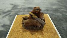 "Tim Wolfe - #11001 ""Overtime� 1996 Release Beaver Sculpture Figurine"
