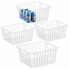 Refrigerator Chest Freezer Baskets, Large Household Wire Storage Basket
