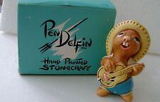 Vintage Pendelfin Studio Rocky Rabbit Figure Nice! Made In England A5
