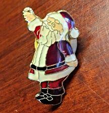 inch Collectible Lapel Pin Holiday Christmas Santa Claus 1