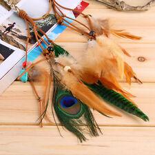Fashion Festival Feather Headband Hippie Headdress Hair Accessories Boho GT