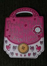 My Pretty Pink Sticker Doodling Purse Coloring Activity Book Carry Handle NEW