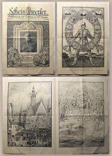 Blatt Scheinwerfer Bildbeilage zur Zeitung der 10. Armee 1918 Militärgeschichte