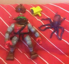 Deep Divin Raphael 2004 Teenage Mutant Ninja Turtles TMNT Octopus