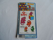 TATTOOS UNOPEN Q BERT QBERT FUN VINTAGE 1983 NEW OLD STOCK TOY free shipping