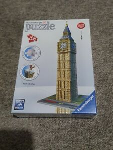 Big Ben London Ravensburger 3D Jigsaw Puzzle 216 Pieces -