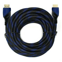 25FT HD 4K 2K 1080P 3D HDMI Cable 18Gbps with Video & Audio Ethernet Return Cord