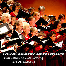 Choir Real Platinum - Large unique Multi-Layer Studio Samples Library on 2DVDs