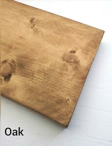 Scaffold Boards Reclaimed - Various Size Rustic Shelves - Fine finish Look Shelf