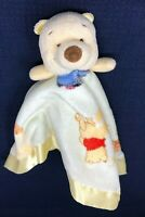 Winnie the Pooh Tigger Yellow Baby Child Lovie Lovey Stuffed Animal Blanket