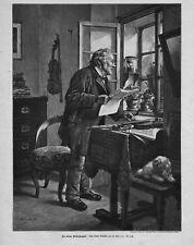 METEOROLOGIE*FROSCH ALS WETTERPROPHET*1898*
