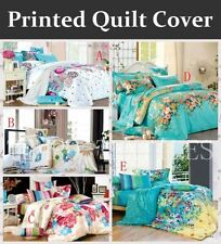 Bedroom Floral 100% Cotton Quilt Covers