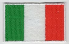 Italy Flag Patch Felt Embroidered Iron On Applique