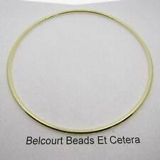 "20 Metal Brass 4"" Diameter Color Dream Catcher Rings Hoops  Solid Ring 101.6mm"