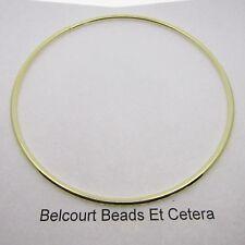"4 Metal Brass 4"" Diameter Color Dream Catcher Rings Hoops  Solid Ring 101.6mm"