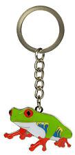 Metal Key Ring Red Eyed Tree Frog Key Chain