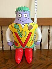 "Vintage The Letter People/ Ms.V-Vegetable Vest 20"" Tall Huggable Inflatable '96"