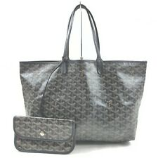 GOYARD Tote Bag  Black PVC 1900145