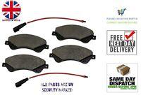 Brand New Front Brake Pad Set For Ford Transit Mk7 2.2TDCi Diesel 2007 > 2014