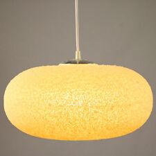 Alte Kunststoff Granulat Pendel Lampe Pille Ufo Leuchte Vintage Pendant 70er