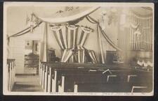 RP Postcard CONNECTICUT E.Lundahl Comments Center Congressional Church 1910's