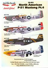 Lifelike Decals 1/32 North American P-51 Mustang Fighter Part 4