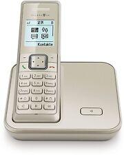 Telekom Sinus 206 Champagner Schnurlos Telefon Dect Schnurloses Gerät Beige
