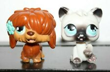 Littlest Pet Shop MAGIC MOTION LICKING CAT SHEEP DOG BROWN WHITE BLACK LOT LPS