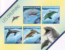 Niger 2014 Delfine Dolphins 4v M/S