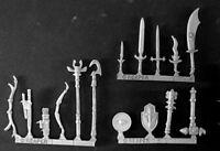Reaper Miniatures Mercenary Weapons Pack (15) #14522 Mercenary Unpainted Mini