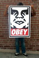 Shepard Fairey aka Obey | Obey Icon Andre | 2020 Signé à la main | COA