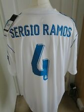 * SERGIO RAMOS *REAL MADRID CHAMPIONS LEAGUE*  2017-18 SIZE XXXLARGE BNWT BADGES
