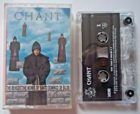 Cassette CHANT The Benedictine Monks Of Santo Domingo De Silos 1994 Angel Record