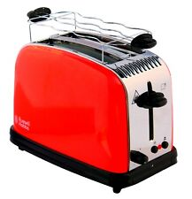 Toaster XL 2 Scheiben Toastschlitz Brötchenaufsatz 1600 Watt 6 Bräunungstufen