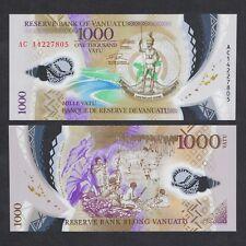 2014 VANUATU 1,000 1000 VATU POLYMER P-15 UNC NR