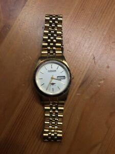 Citizen Automatic Armbanduhr für Herren 21 Jewels Datumsanzeige