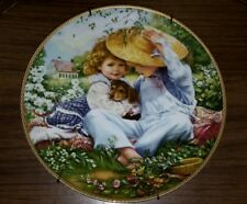 """A Time to Love"" by Sandra Kuck from Our Children ,Our Future Plate Collection"