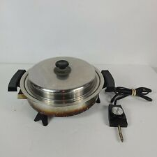 Lifetime Stainless Steel- Electric Skillet USA 27906 900 Watts