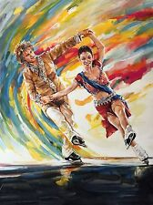 Meryl Davis and Charlie White - Serigraph Lithograph, Olympic Gold Medalists