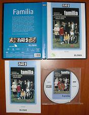 Familia [DVD] EL PAÍS, Fernando León de Arona, Juan Luis Galiardo, Amparo Muñoz